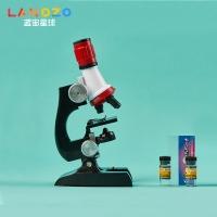 WJ.04.0008,儿童光学显微镜高倍微生物小学生科普学习玩具1200倍高清实验礼物