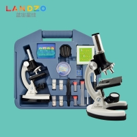 WJ.04.0009,学生1200高倍显微镜 专业 生物便携生物实验箱科学实验儿童节礼物