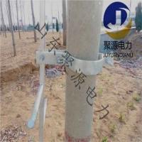 通信工程施工专用电线杆爬梯 管型线杆爬梯生产加工厂家