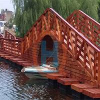 水上栈道海边栈桥浮桥栈桥建筑水上通行栈道水上景观浮桥批发