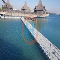 码头工程浮筒皮划艇码头钓鱼赛平台浮桥海上抗风浪养殖水上平台
