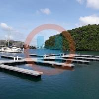铝合金结构浮码头浮桥加工定制