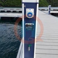 水电桩、房车营地、游艇浮码头专用户外水电通讯能源装置